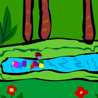 Cartoon Worm Escape