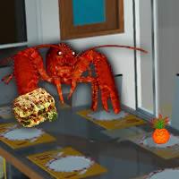 Escape of Lasagna Lobster