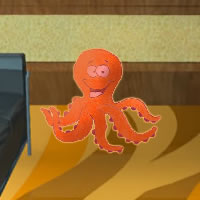Orange Octopus escape