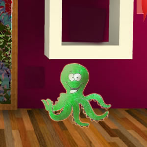 Green Octopus Escape