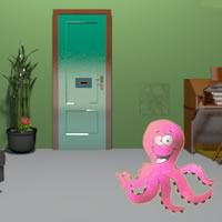 Pink Octopus Escape