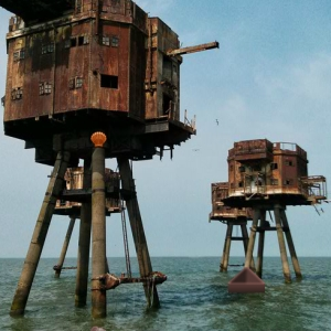 Abandoned Ocean Fort Escape