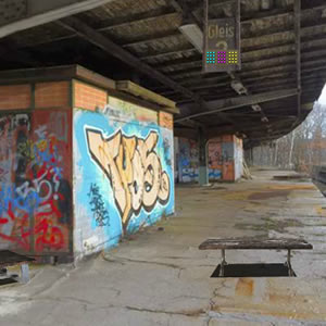 Escape From Abandoned S Bahn Station