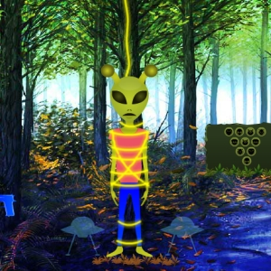 Fantasy Forest Alien Rescue