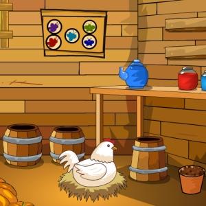 Farmer Wooden House Escape