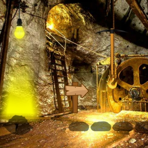 Gold Mine Trapped Escape
