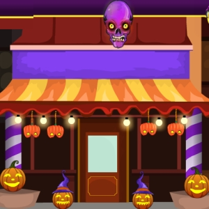 Halloween Cake Shop Escape