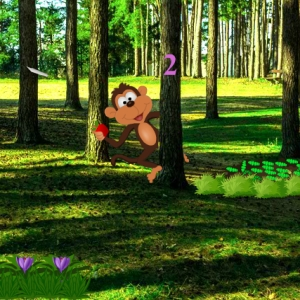 Mad Monkey Forest Escape