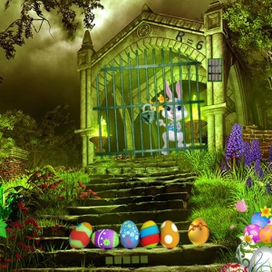 Magic Easter Garden