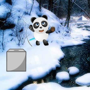 Panda Snow World Escape