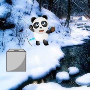 Panda Snow World Escape