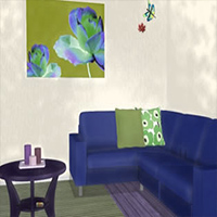 Flowers Painting House Escape